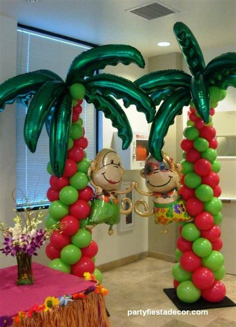 Hawaiian Balloon Decorations by 93 Best Images About Hawaii Balloon Decor On