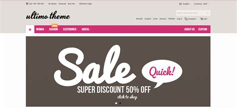 20 amazing e commerce templates wdexplorer