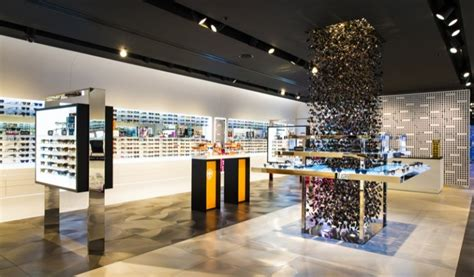 luxottica room the sunglass hut flagship store opens in asia pacific in sydney luxottica