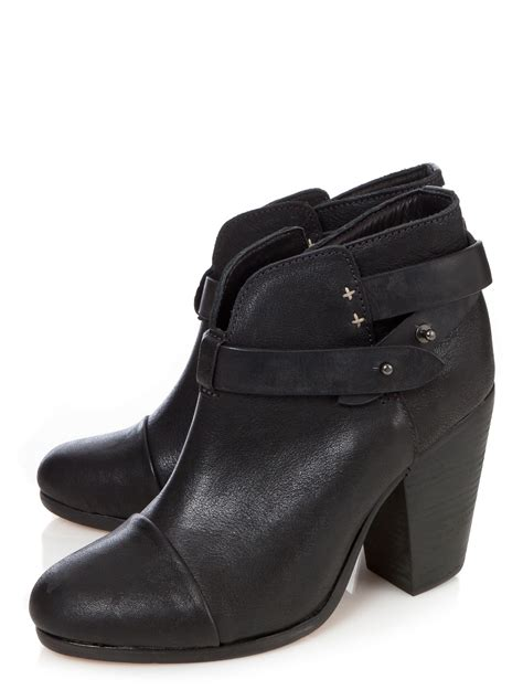 rag and bone boots rag bone harrow boots in black lyst