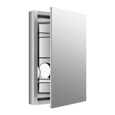 recessed mirror cabinet mirrored cabinet doors mirrored accent brushed silver medicine cabinets kohler 30in x 26in