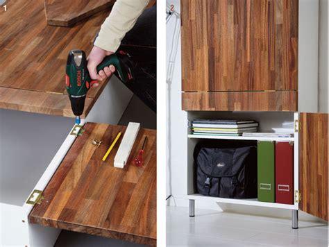 costruire una scrivania in legno come costruire una scrivania da parete bricoportale fai