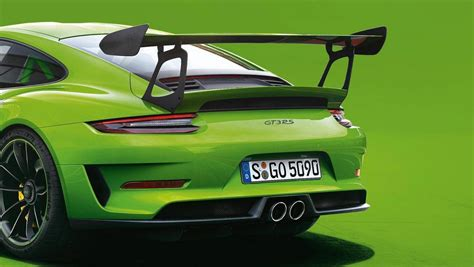 porsche 911 gt3 rs green porsche 911 gt3 rs lizard green color explained