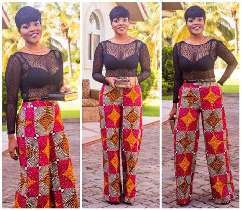 latest ankara styles with trouser trending ankara pants for ladies afrocosmopolitan