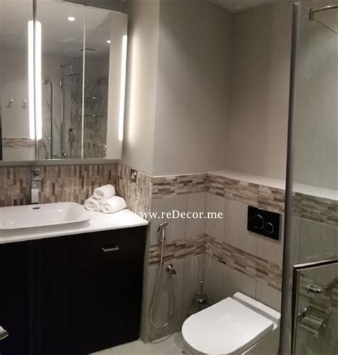 dubai bathroom designs master bathroom remodelling and guest upgrade redecorme