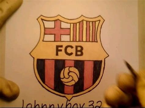 tutorial logo barcelona how to draw fc barcelona logo sign easy step by step