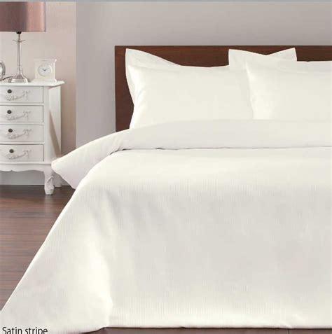 white and cream bedding satin stripe duvet cover bedding sets black white cream single double king ebay