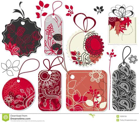 cute price tags royalty free stock image image 16295156
