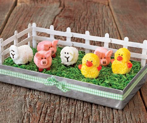 Country Home Decorating Ideas Pinterest by How To Make A Marshmallow Barnyard Centerpiece Spring