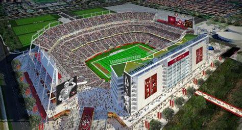 Es Gamis Clara 49ers new santa clara stadium opens august 2014