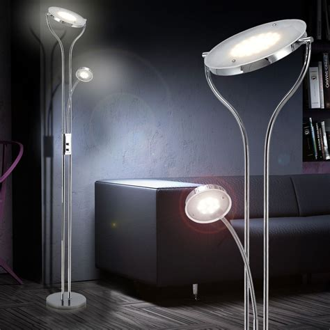 light stand for living room 24 watt led floor l living room l reading l stand l hallway lighting ebay