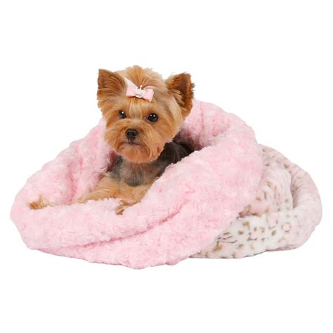 cuddle cup dog bed pink lynx leopard cuddle cup bed by susan lanci glamour mutt