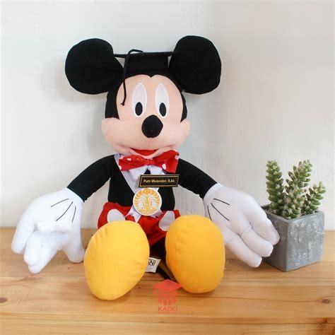 Boneka Wisuda Flanel Jogja jual boneka wisuda mickey mouse kado wisudaku