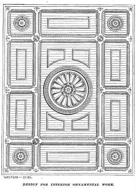 victorian interiors    dining room ceiling design