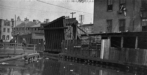 Jersey City Section 8 Office by Henderson St Drawbridge Morris Canal Flickr