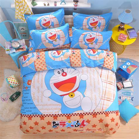 online get cheap doraemon bed sheets aliexpress com