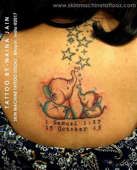mom and baby elephant tattoo best 25 baby elephant ideas on