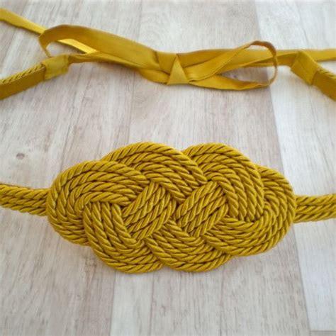 nudos marineros decorativos cintur 243 n nudo marinero cinturones y fajines