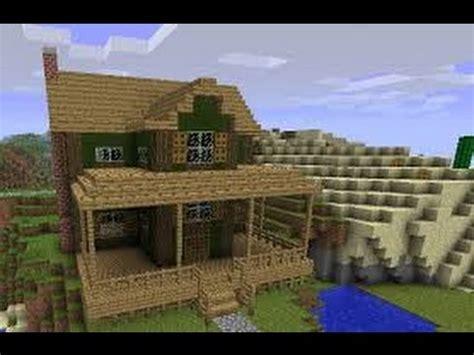build a farmhouse minecraft building a farm house 1 youtube
