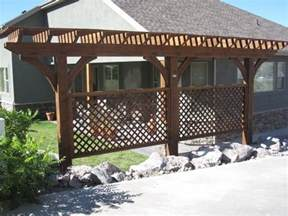 Pergola Or Trellis by Arbors And Trellises Timber Kits Western Timber Frame