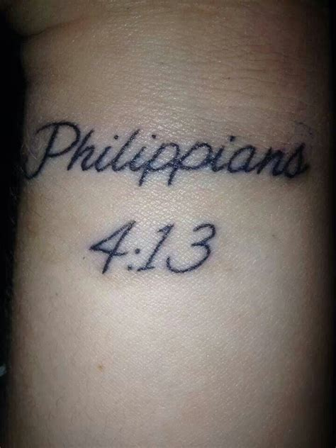religious tattoos on wrist bible verse wrist quot i can do all things through