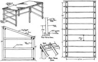 three sided shed plans