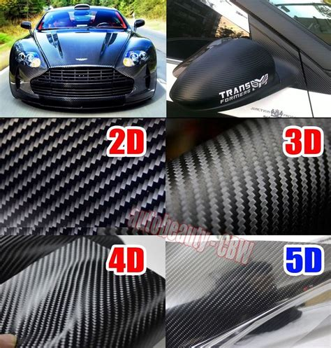 car film wrap malaysia optional cbw car 2d 3d 4d 5d carbon fiber sheet wrap