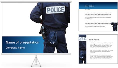 powerpoint themes police police department powerpoint template backgrounds id