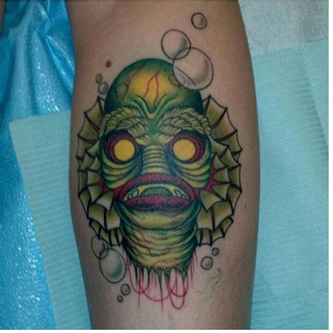 creature from the black lagoon tattoo by kristi at east