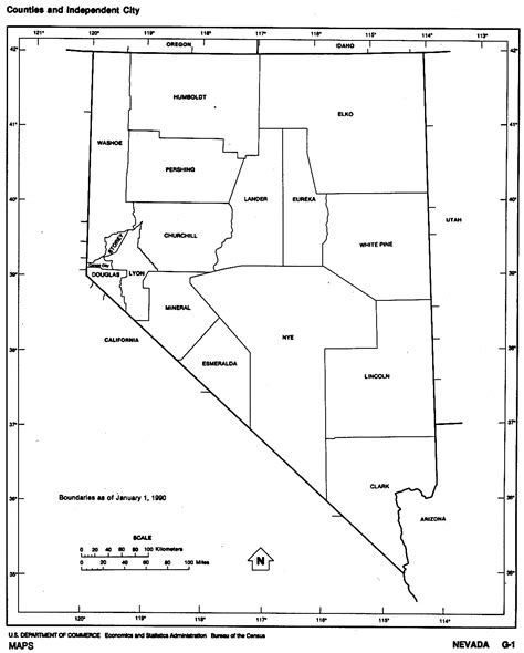 nevada map coloring page nevada free map