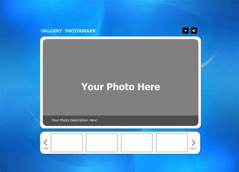flash gallery templates for ipixsoft flash gallery factory