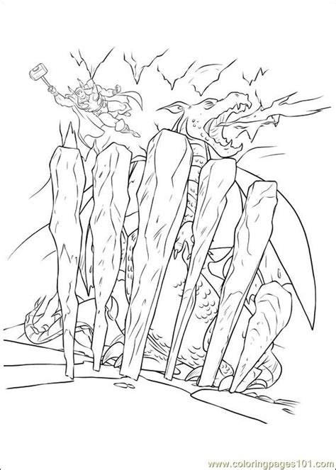 thor coloring pages pdf thor 20 coloring page free thor coloring pages