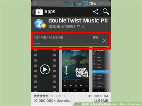 how to put from itunes to android 3 ways to transfer from itunes to android wikihow