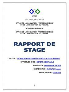 Rapport De Stage Cabinet Comptable by Rapport De Stage Cabinet Comptable Letudier