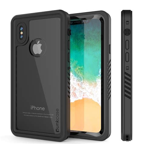 iphone xs max waterproof punkcase series armor cover w