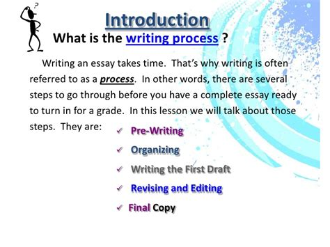 Define Process Essay by Writing Process Ppt And Assignment