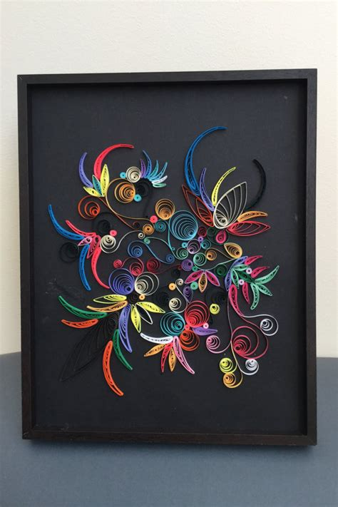 Handmade Wall Decor by Quilling Paper Brasil Quilling Handmade Wall Color