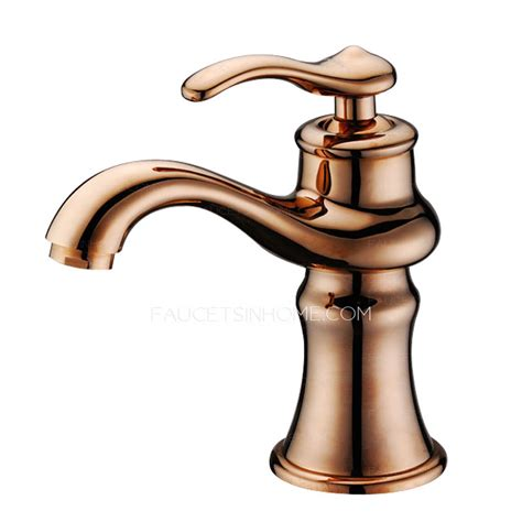 antique gold bathroom faucets antique rose gold filtering single faucet bathroom