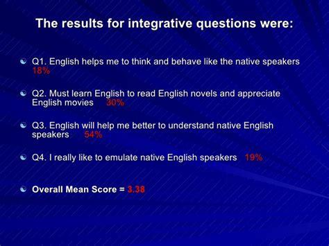 Second Language Acquisition Abroad motivation and second language acquisition ppt