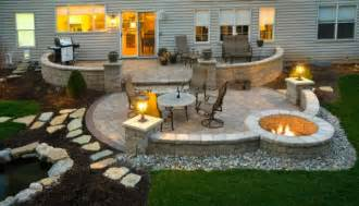 Unilock Fire Pit Five Makeover Ideas For Your Patio Area