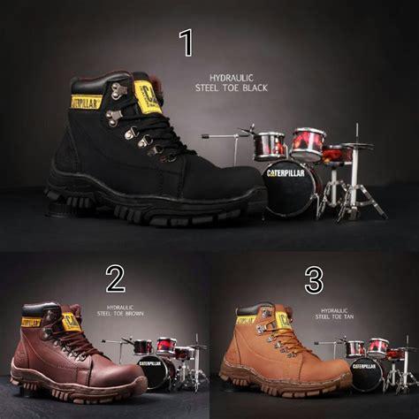 Sepatu Caterpillar C V Pria jual beli sepatu boots caterpillar cat hidraulic safety