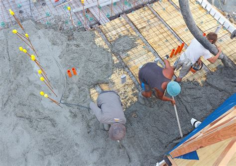 Second Floor Slab Thickness by Concrete Floor Slab Second Pour The New Zealand S