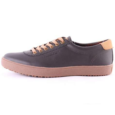in shoes barbour wallsend mens casual shoes in brown