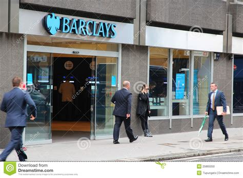 banche estere on line barclays bank editorial image image 25865050