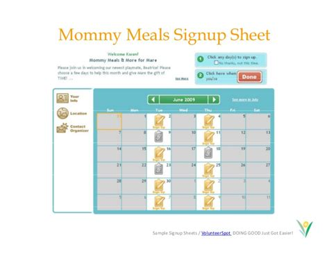 how to make calendar on sheets make free and easy calendar sign up sheets