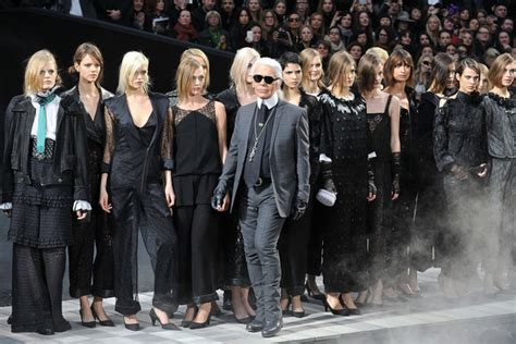 Runway Karl Lagerfeld by Karl Lagerfeld Pictures Chanel Runway Fashion