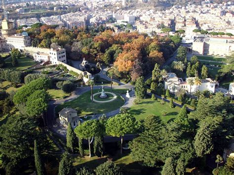 City Gardens by Panoramio Photo Of Vatican City Gardens