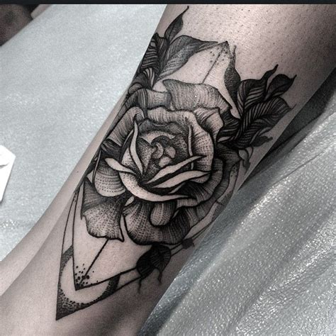 wrap around rose tattoo 40 best images about arrow on compass