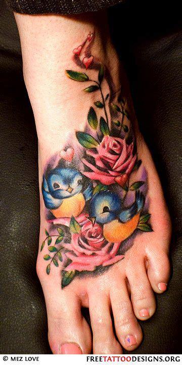 bird with rose tattoo the world s catalog of ideas