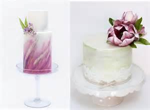 Elegant Life wedding cakes in watercolours cake geek magazine